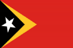 East Timor Large Country Flag - 5' x 3'.